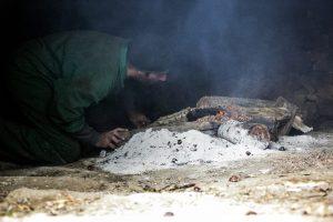 farina seccatoio legna che brucia per più di 40 giorni